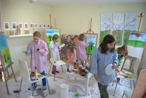 Kinderatelier Schilderworkshop